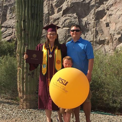 Mrs. Polmateer's Arizona State Graduation