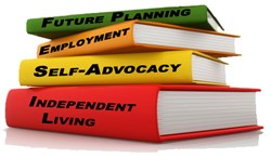 Future planning, employment, self advocacy, independent living
