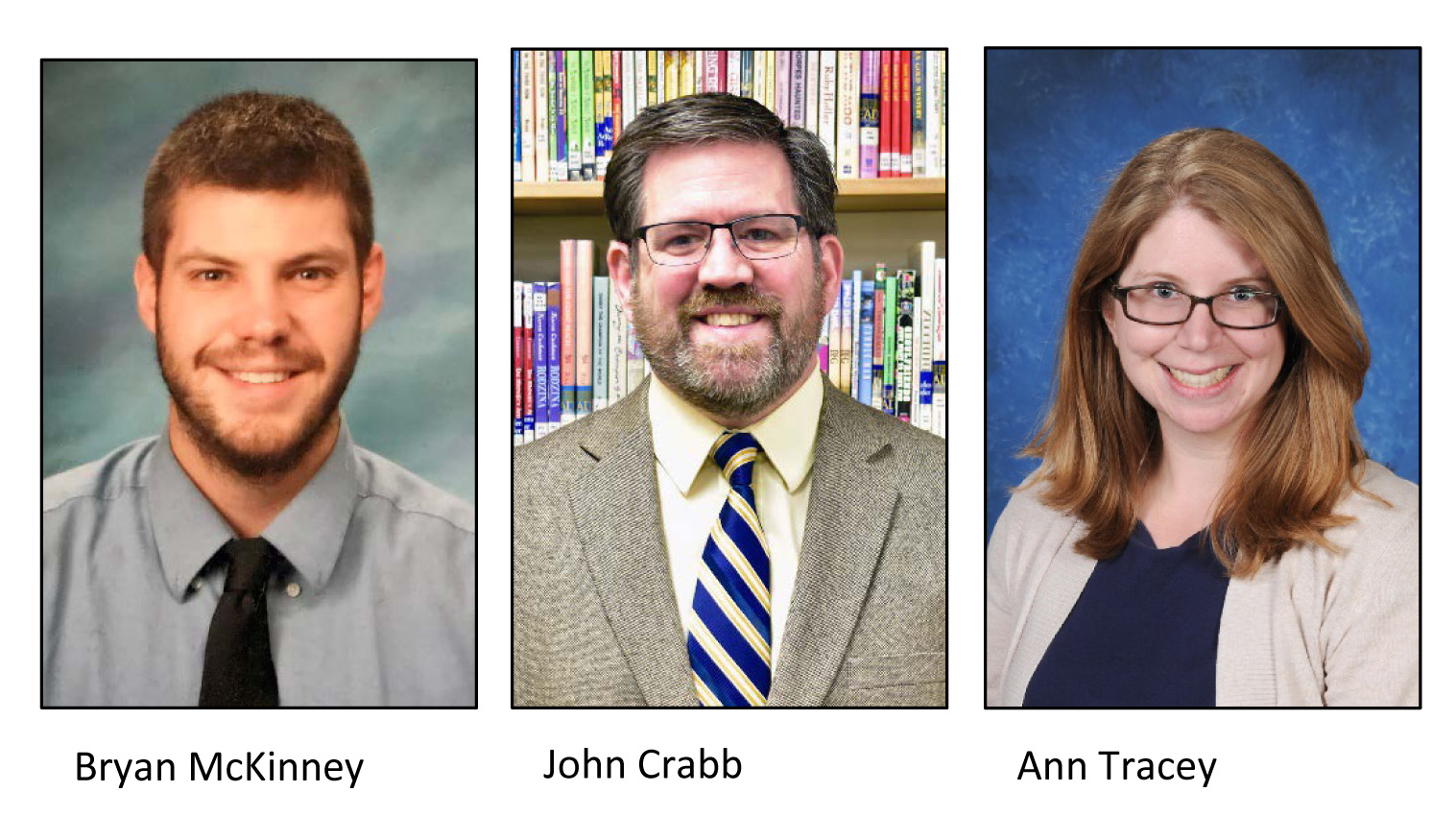 Three New Administrators Named to Leadership Team