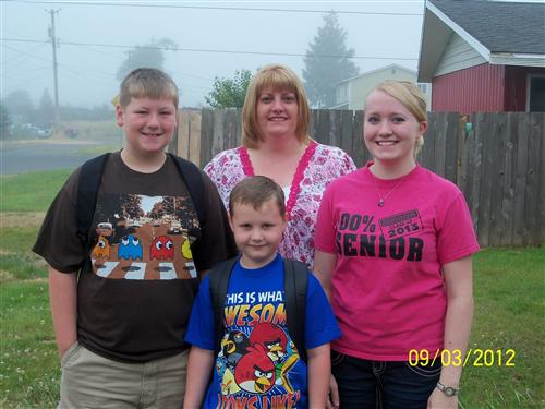 Our First Day of School 2012-2013